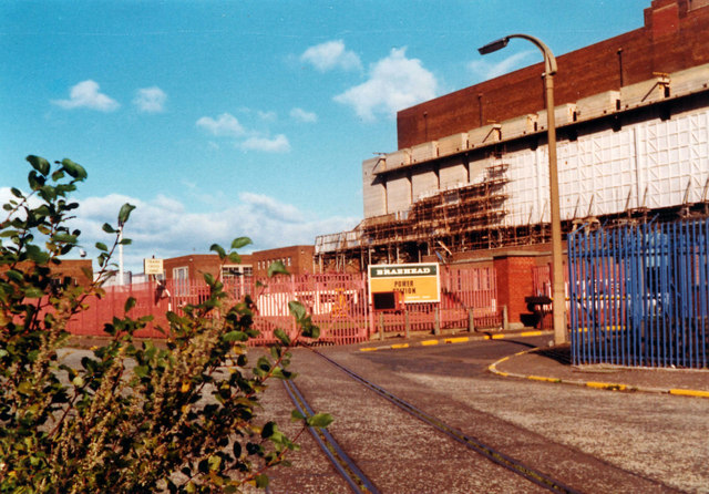 Braehead Power Station, Kings Inch Road, 1977