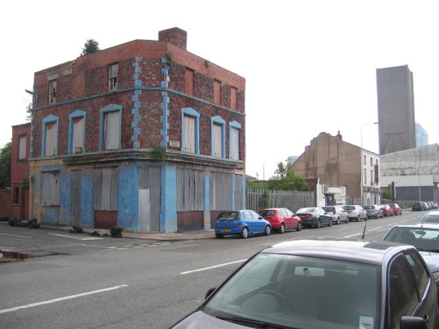 Lascar House on the corner of Vandries Street