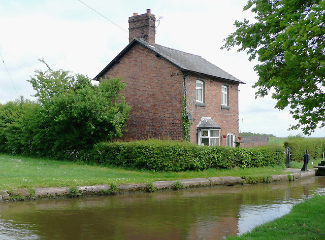 Cottage by Hurleston Locks, Cheshire
