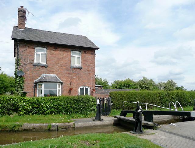 Cottage by Hurleston Locks, Cheshire