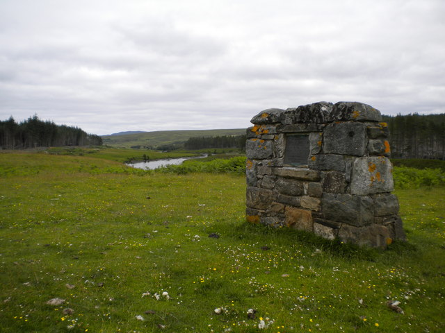 Highland clearances memorial Strath Naver