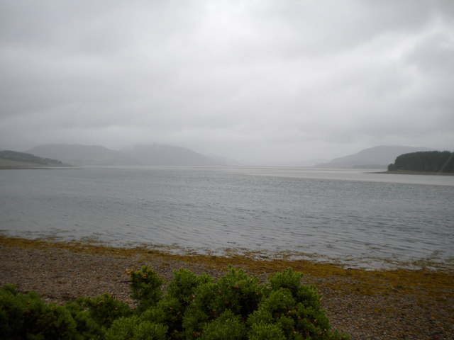 Loch Fleet from the Mound