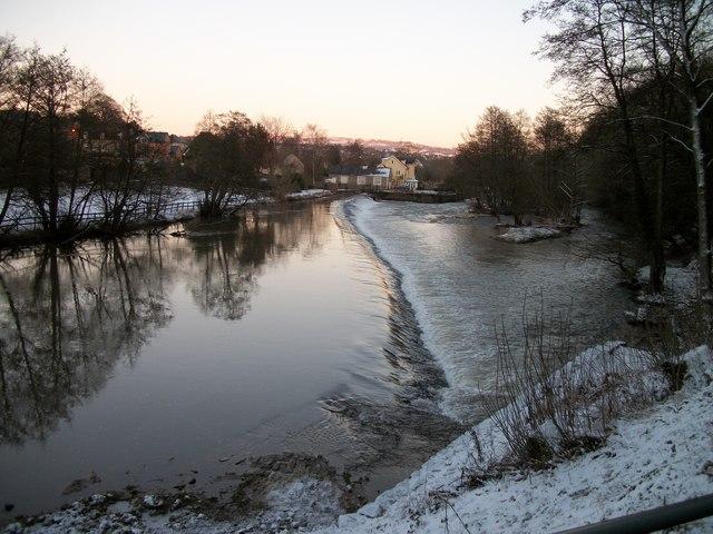 Weir On The Teme