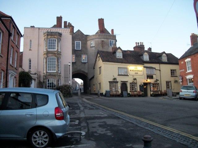 The Wheatsheaf and Town Gates