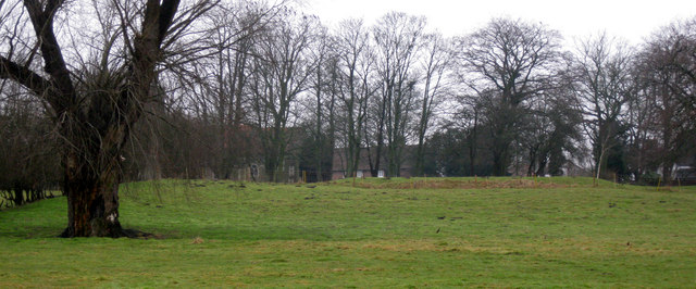 Fields near Hemingby Church