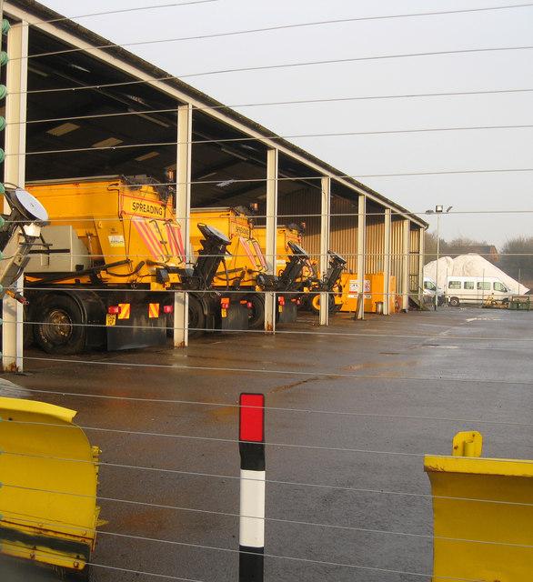 Council Highways depot