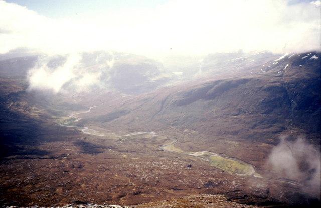 Sail Liath's southern slopes