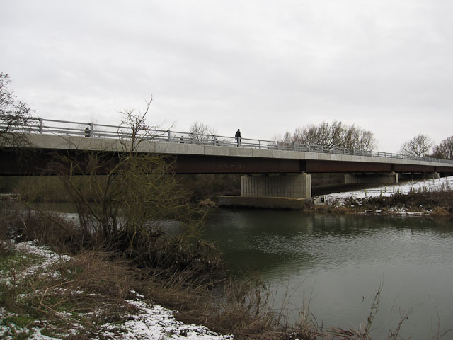 Guided busway bridge