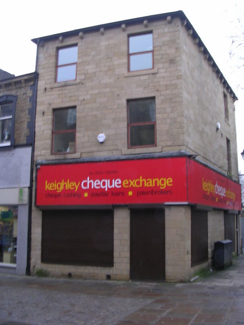 keighley cheque exchange - Low Street