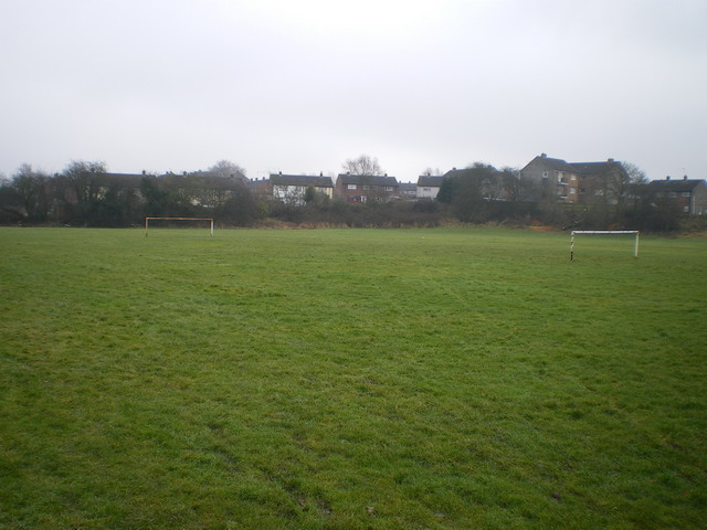 Playing fields near Madeley