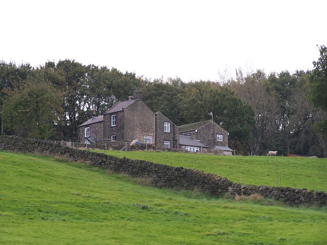 Woodland Cottage Farm, from Greaves Lane, Stannington, Sheffield - 2