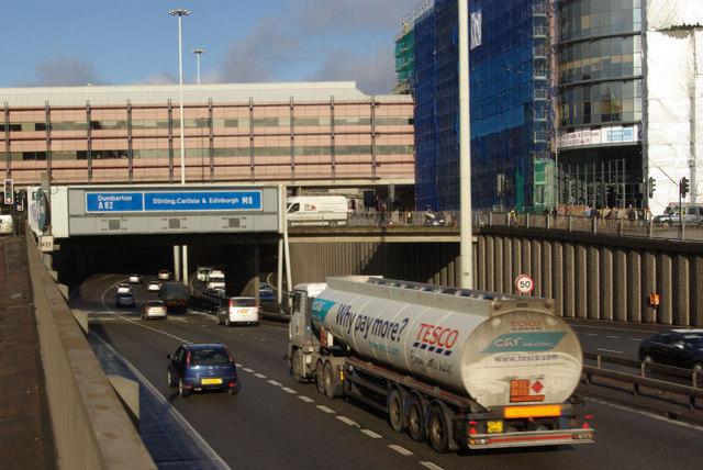 M8 at Charing Cross