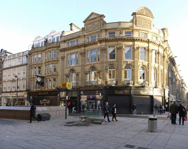 Eldon Buildings, Blackett Street  / Grey Street