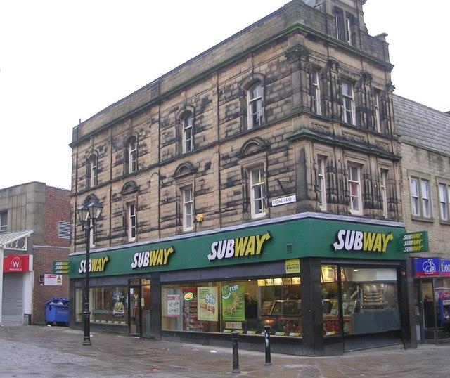 Subway - Cooke Lane