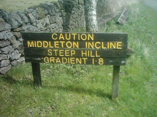 Middleton Incline, High Peak Trail, Derbyshire