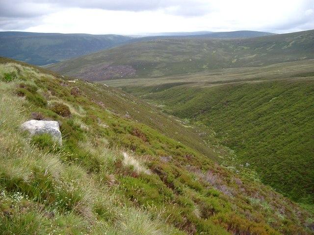 Flanks of Lochnagar