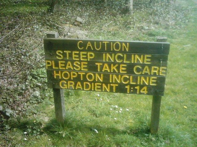 Hopton Incline, High Peak Trail, Derbyshire