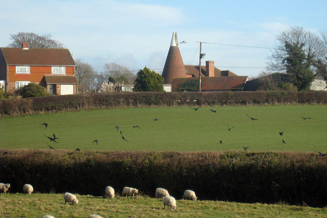 Oast House at Tilley Farm, Tilley Lane, Windmill Hill, East Sussex