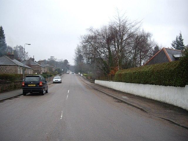 West end of Burnett Road