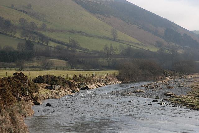 River Wye / Afon Gwy at Llangurig