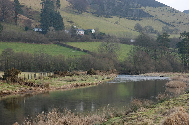 Afon Gwy / River Wye below Cil-Gwrgan-fach