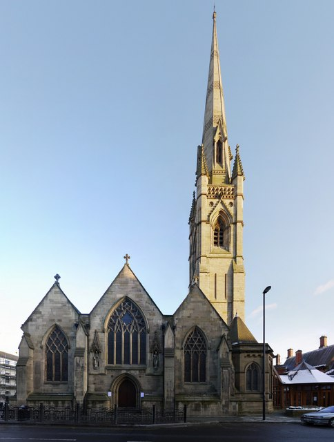 St Mary's Cathedral, Clayton Street West