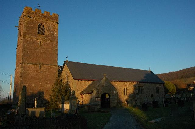 Talgarth church