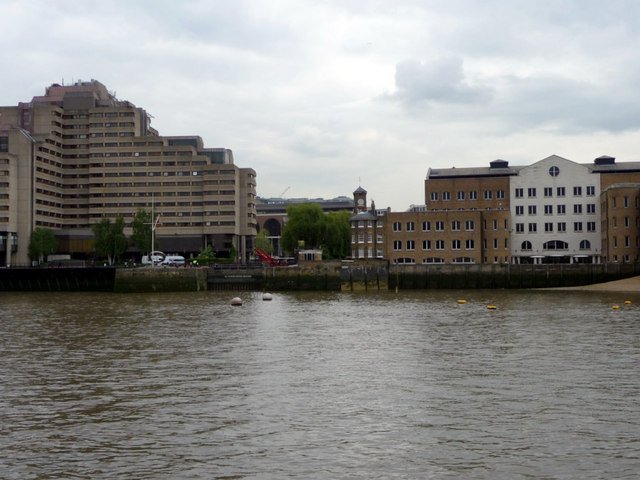 Tower Hotel and entrance to St Katharine Docks, London