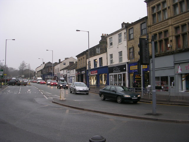High Street - from Low Street