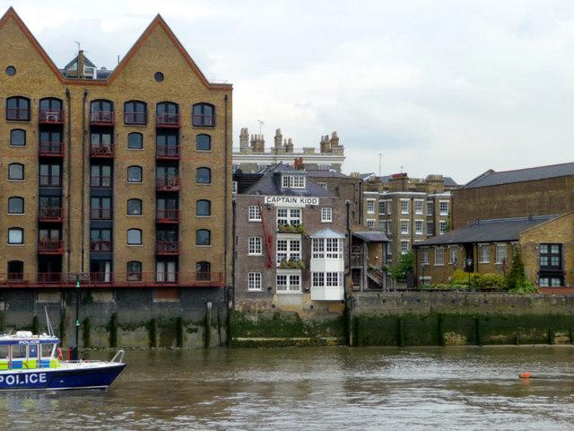 Captain Kidd, Wapping, London