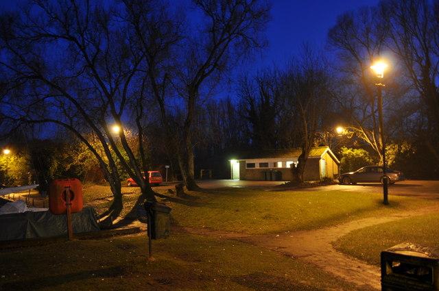 Late Evening Loddon Carpark