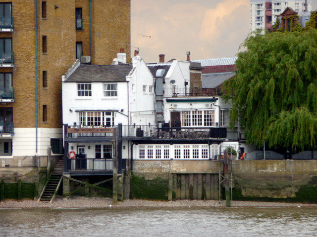 The Prospect of Whitby, Wapping, London