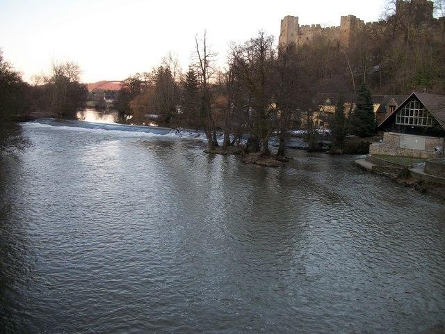River Teme At Dinham