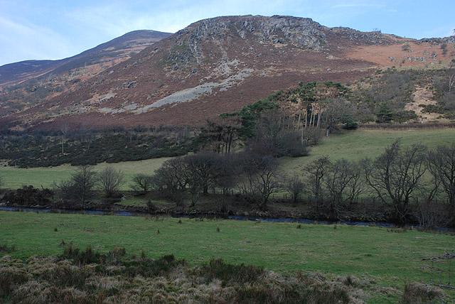 The Wye valley below Bwlchgwyn