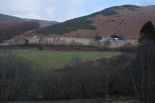 The Wye valley below Cefnbychan