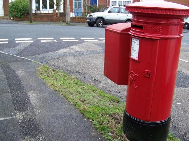 Postbox, Harnham