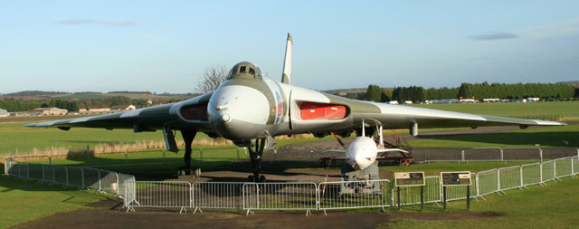Preserved Avro Vulcan B.2 XM597