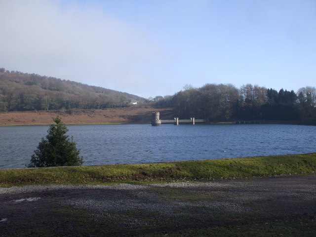 Wentwood Reservoir, looking towards the dam