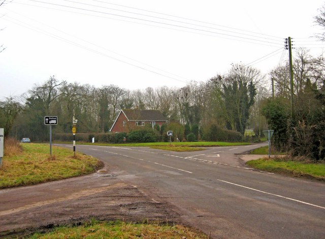 Crossroads on the  B4379