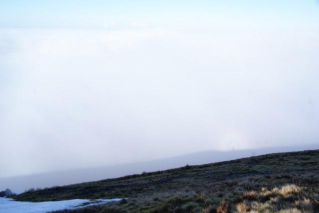 Mist below Pendle