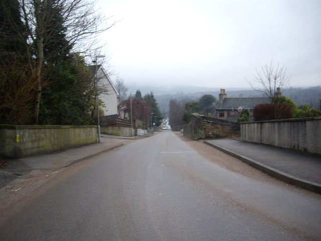 Top end of Mount Street, Banchory