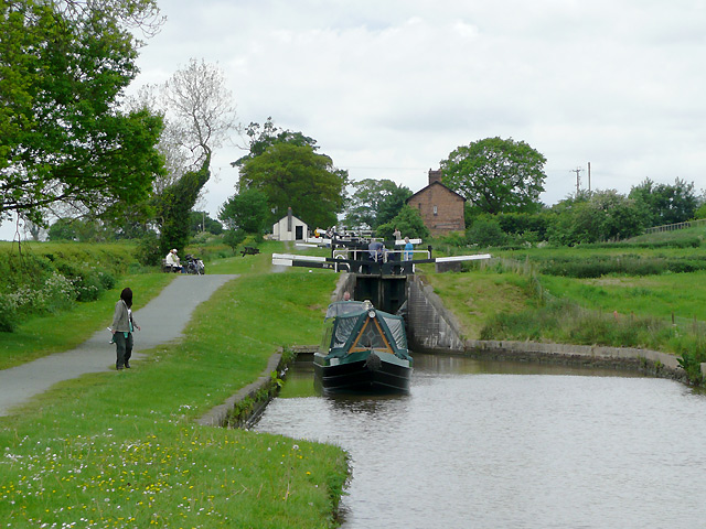 Hurleston Locks No 3, Llangollen Canal, Cheshire