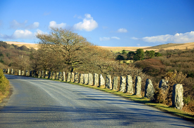Road to Burrator - Dousland