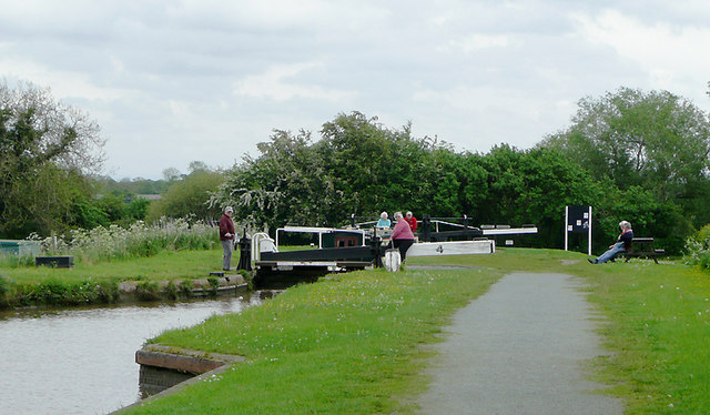 Hurleston Locks No 4, Llangollen Canal, Cheshire
