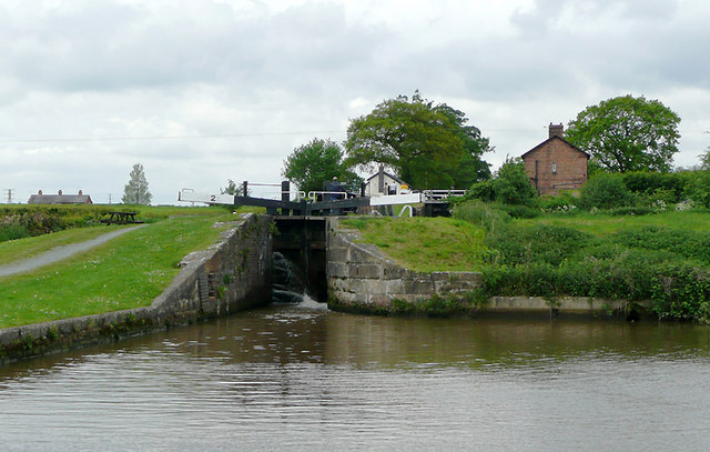 Hurleston Locks No 2, Llangollen Canal, Cheshire