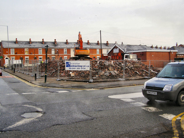 Site of former St Mary and St Philip Neri Catholic Church, Radcliffe