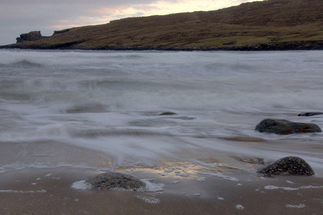 Incoming tide, Norwick