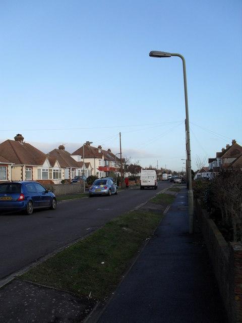 Lamppost in The Crossway