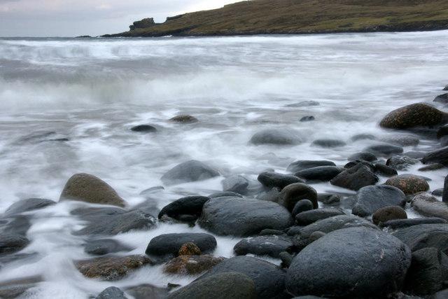 Norwick beach