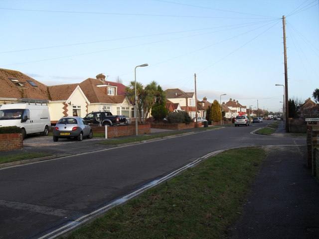 Junction of The Kingsway and The Crossway